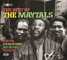 THE MAYTALS - THE BEST OF THE MAYTALS  2 CD NEU
