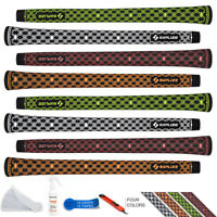 SAPLIZE Golf Grips, 13 Grips + 15 Tapes, Midsize, Golf Club Grips Kit, 2019 New