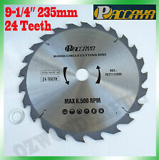 "Circular Saw Blade(235mm) 9-1/4""x 24 Teeth Timber Aluminum Alloy Plastic Cutting"