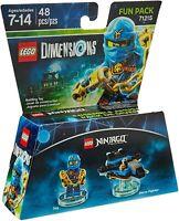 LEGO Dimensions Ninjago Jay Fun Pack 71215 Original UK Release