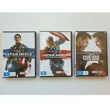 Captain America (DVD, 2018, 3-Disc Set)