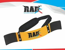 RAD New Arm Blaster Body Building Bomber Bicep Curl Triceps Muscle Builder Yelow