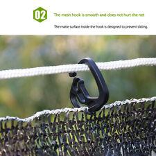 100 Pcs Shading Net Hook Plastic Hanging Hooks for Greenhouse Shade Mesh Hooks