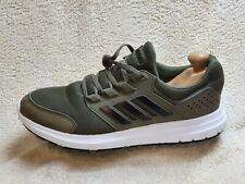 ADIDAS Galaxy 4 Sneaker Uomo Cachi-Verde/Bianco/Nero UK 8.5 EUR 43 US 9