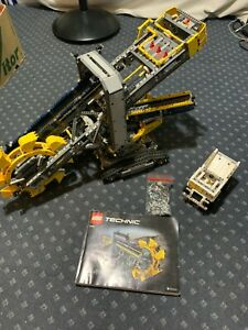 LEGO Technic 2 in 1 Vehicles Set 42055 Bucket Wheel Excavator COMPLETE Mining