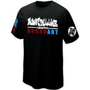 T-Shirt MONTPELLIER URBAN ART - GRAFFITI - STREET-ART ★★★★★★