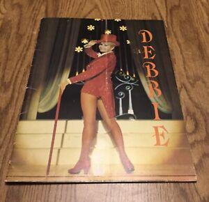 **Debbie Reynolds & Company- Back On Broadway Souvenir Program** SIGNED VGC book