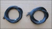 Bow Hair - Black Horsehair (2 Hanks) for Violin, Viola, Cello