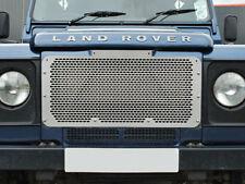 LAND ROVER DEFENDER 90 / 110 IN ACCIAIO INOX GRIGLIA ANTERIORE da2356 X1