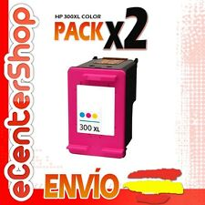 2 Cartuchos Tinta Color HP 300XL Reman HP Deskjet F2420