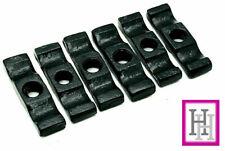 "Turn Button Black 6 x 2.5""/60mm Catch Gate Door Cage Cupboard Twist Latch D4"