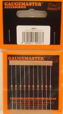 Gaugemaster GM76 - 10 x 1000 ohm Resistor for LEDs (N/HO/OO/O Scales) 1st Class