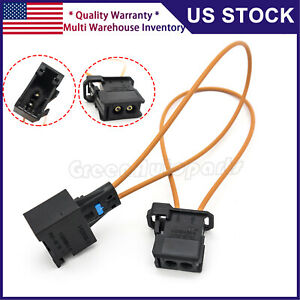 For BMW MERCEDES MOST Diagnostic Kit Fiber Optic Loop Bypass Male & Female Plug