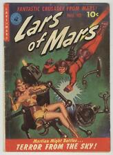 Lars of Mars #10 April 1951 VG 1st issue, Classic Robot Painted Cover