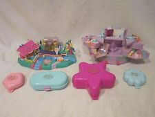 Huge Vintage Polly Pocket Lot Collection Bluebird Toys Lot of 6 - Compacts