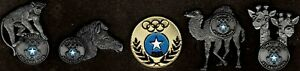 Unique 1996 Atlanta Somalia Olympic NOC Pin Set of 5