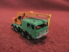 MATCHBOX LESNEY No 30 8-WHEEL CRANE TRUCK - GREEN/ORANGE