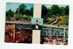 MA Lynnfield Massachusetts vintage post card - Ship's Haven Restaurant