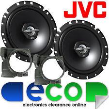 VW Polo 6N2 MK3 99-03 JVC 17cm 600 Watt 2 Way Front Door Car Speakers & Brackets