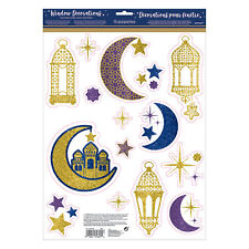 Amscan Eid Window Decorations 30cm x 43cm