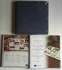 Creative Memories DENIM Navy Blue SCRAPBOOK ALBUM Sealed Refill Pages and Protec