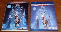 Disney Olaf's Frozen Adventure BluRay / DVD set -  Brand New Sealed & Slipcover