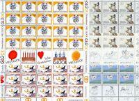 Liechtenstein Kleinbögen MiNr. 1041-44 postfrisch MNH Grußmarken (1041