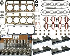 Head Gasket Set Lifters Guides Tray for 2001-2007 GM Chevy Cadillac 6.0L