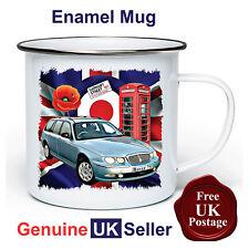 Rover 75 Tourer Mug,11oz Enamel Rover 75 Tourer Camping Mug