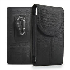 Cell Phone Pouch with Belt Loop and Metal Hook Holster Case for iPhone Samsung