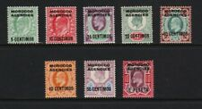 Great Britain - Offices Morocco - 8 from 1907 set, mint, cat. $ 58.00