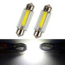 2x 39mm C5W LED Car Festoon Reading Dome Map License Plate Light Bulb White 12V