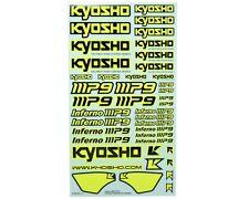 Kit Adesivi Giallo Fluo per Kyosho MP9 - IFD402KY