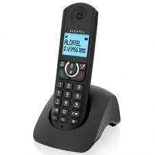 Telefono Fijo Inalambrico sin Cables Alcatel F380S Negro Manos Libres Teclas