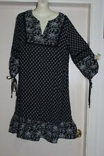 BOHO AUSTRALIA NWT SZ-S 10 FESTIVAL GYPSY HIPPY PEASANT RENALDA TUNIC DRESS