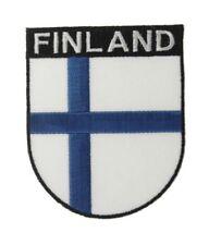 Finnland Wappenpatch 8 * 6,5 cm, Patch, Flagge, Aufnäher
