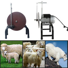 Sheep Clipper Blade Sharpener Goat Shears Shaving Cutter Grinding Machine 480W