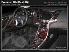Dash Trim Kit for HYUNDAI ELANTRA 2013 carbon fiber wood aluminum
