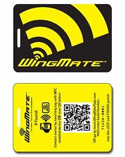 WingMate Traveler NFC Smart Luggage Tag & Geolocation web app! Luggage Accessory