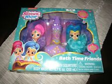 Nickelodeon Shimmer And Shine Bath Time Friends Gift Set-New/Free Shipping!