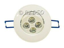 Omicron White Finish LED Downlight 6400k (cool white) 5 Watt