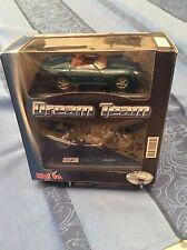 Modellini Dream Team (Jaguar XK180 Maisto+Moto Triumph Sprint RS)