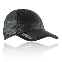 Craft Unisex UV Running Cap Black Sports Breathable Reflective