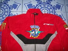 NUOVO MV AGUSTA f4 RR CORSACORTA fan-Giacca Rosso Nero Grigio Haagse Jacket JAS Giacca