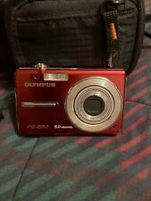 Olympus FE-280 8.0MP Digital Camera - Red