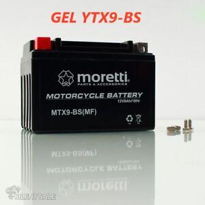 YTX9-BS Moretti MTX9-BS Gel Mottorad Batterie TOP PRODUKT NEU
