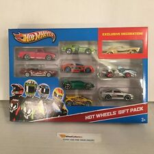 #22 * Hot Wheels 9 Pack of Cars w/ Gold Buick Riviera * Y39