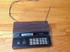 Vintage Realistic 60 Channel Pro-2024 AM/FM Direct Entry Programmable Scanner