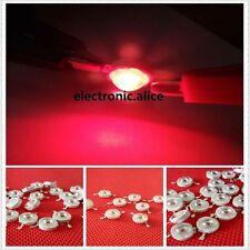 New 50pcs 3W 3Watt deep red 650nm-660nm led chip Plant grow light