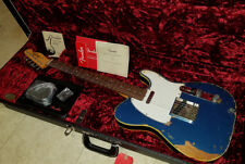 Fender American Original 64 Custom Telecaster Relic Tele Lake Placid Blue w/Case